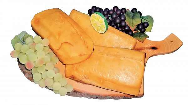 Kaltgeräucherte Buttermakrelenfilet