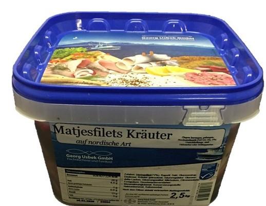 Matjesfilet Kräuter 2,8 kg
