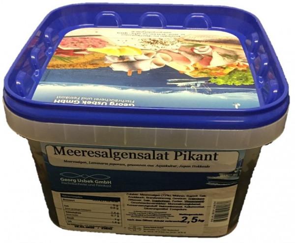 Meeresalgensalat-Pikant-2,5 kg-
