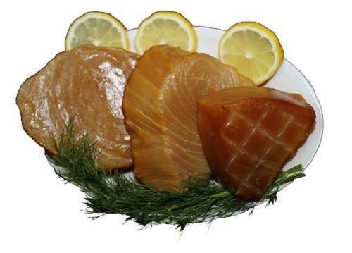 Kaltgeräucherte Marlin-Loins (Schwertfisch)