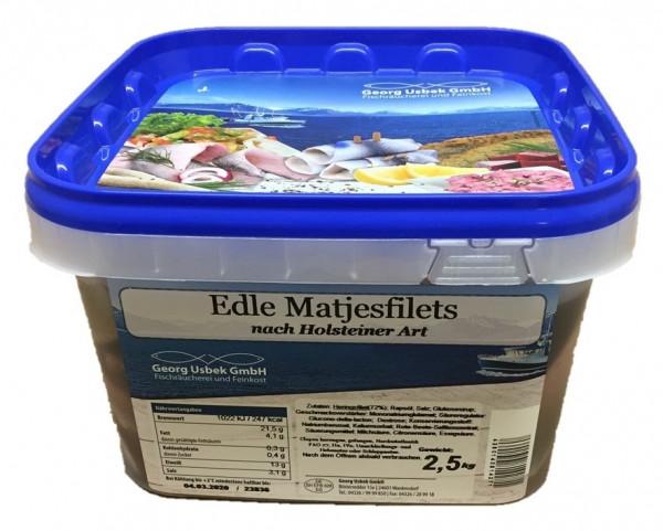 Matjesfilet nach Holsteiner Art 2,5 kg
